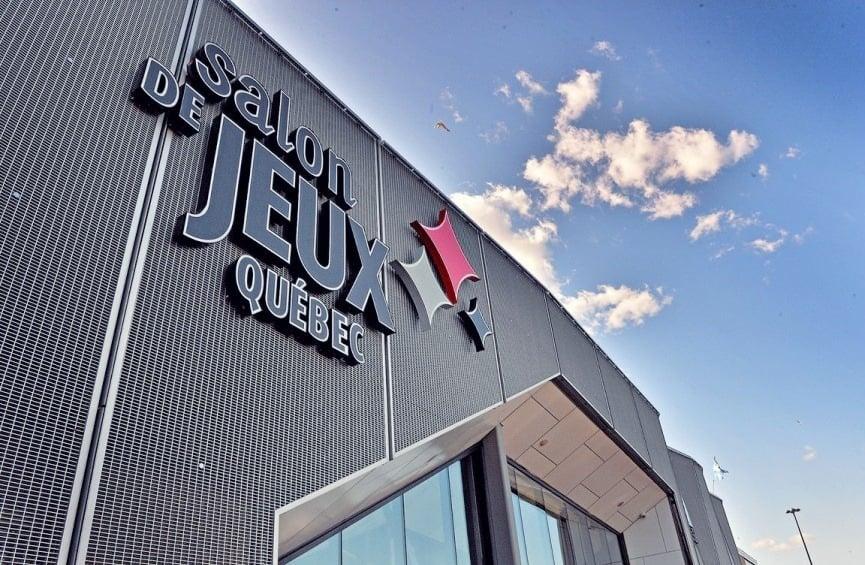 Front wall of the Quebec City's Salon de Jeux gambling venue