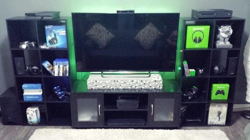 Monitor console gaming