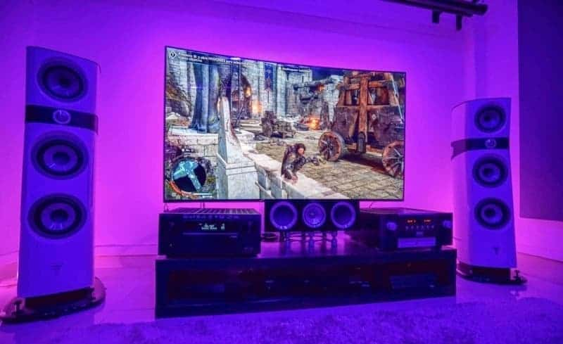 Sound System console gaming