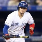 Cavan Biggio is the second baseman for the Toronto Blue Jays
