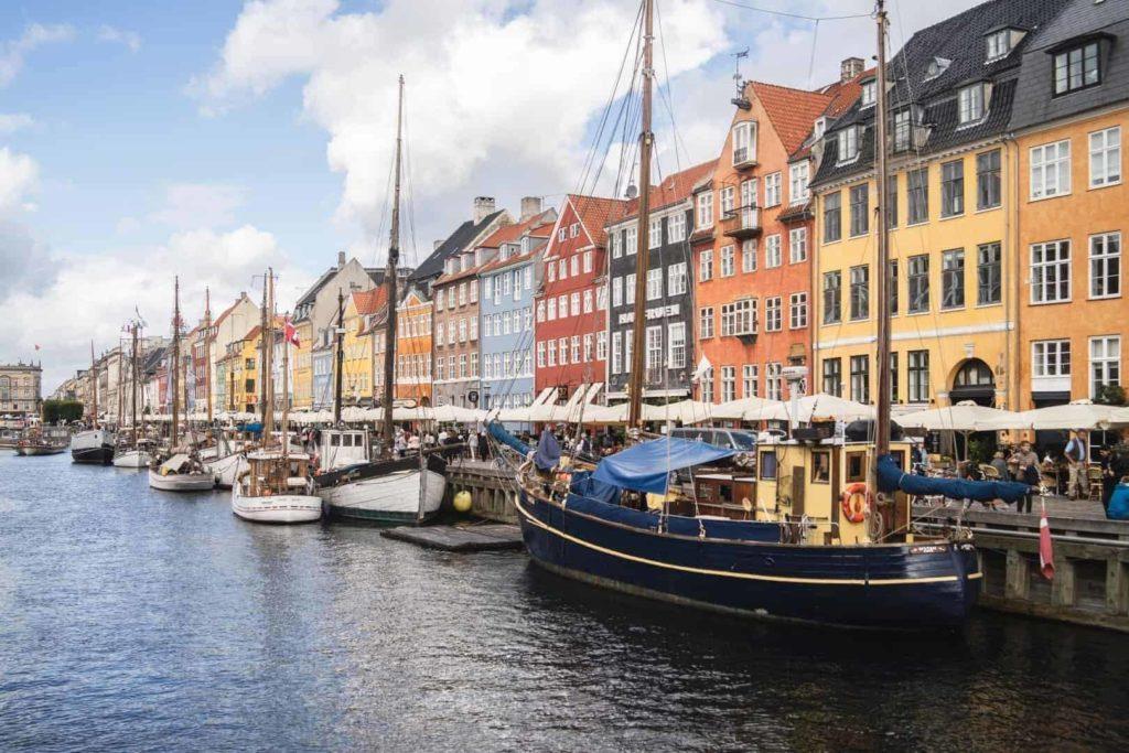 Nyhavn du Danemark