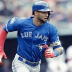 Lourdes Gurriel JR is the left fielder, second baseman and shortstop for the Toronto Blue Jays