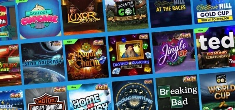 Online Scratchcard games