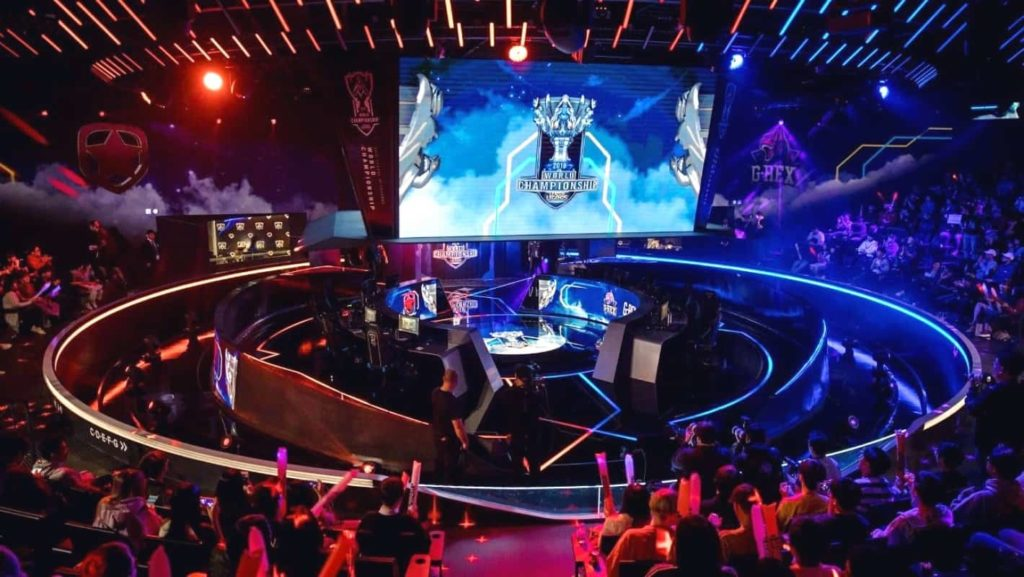 Tournoi lors du Championnat du monde League of Legends de Riot Games en 2019