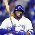 Vladimir Guerrero JR is the third baseman, playing for Toronto Blue Jays