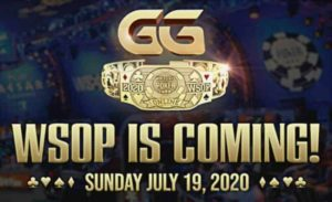 WSOP 2020 tournaments will take place from 19 of July 2020