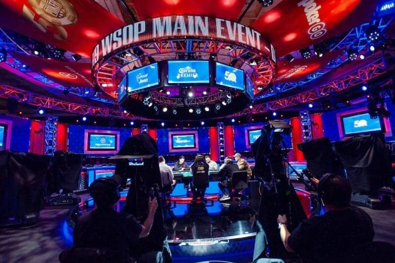 Main Event of the World Series of Poker Tournament in 2019
