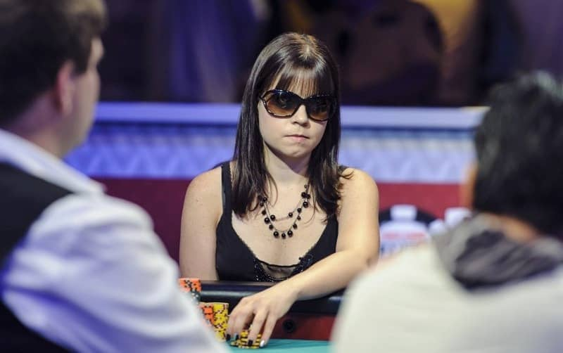 Annette Obrestad - the youngest winner of WSOP bracelet