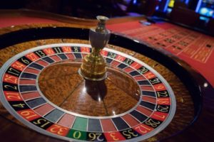 Casino roulette in one of the casinos of Monte Carlo