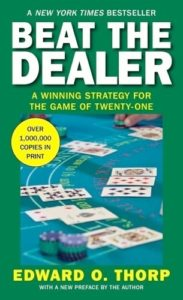 A cover of the book Beat the Dealer written by Edward O'Thorp