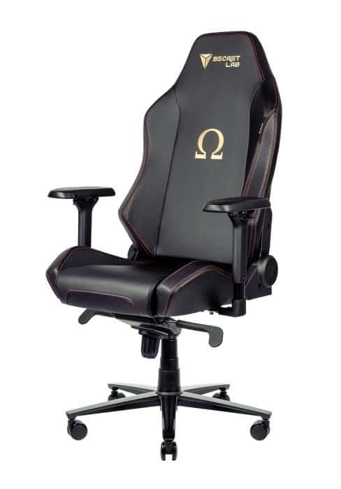 Une chaise de jeu Secretlab Omega 2020 Series pour un jeu confortable