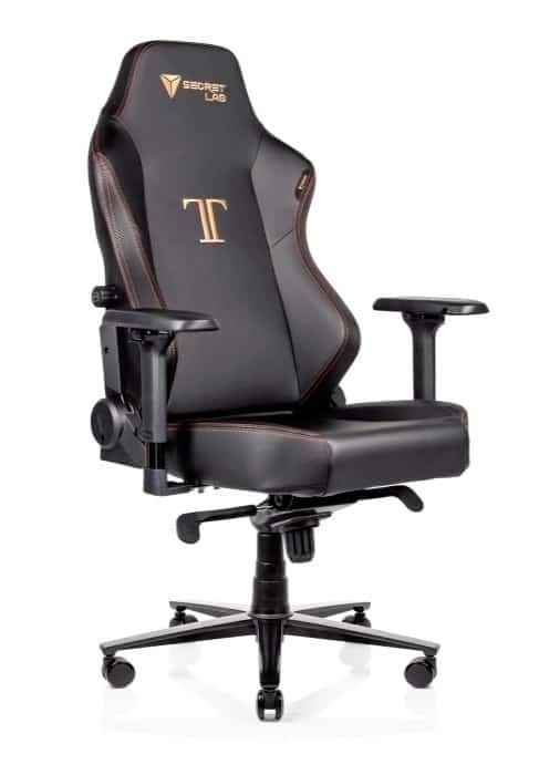 Chaise de jeu Secretlab Titan pour le jeu en ligne à la maison