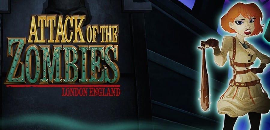 Une héroïne du jeu de machine à sous Attack of the Zombies