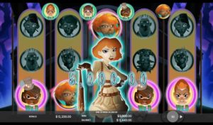 A gameplay of Attack of the Zombies online slot