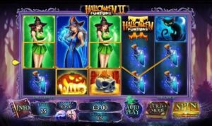 Halloween Fortune slot with beautiful witches