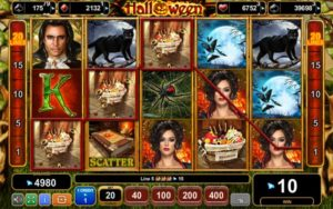 Gameplay of Hallowing EGT real money slot game