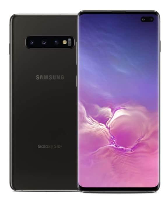 Samsung Galaxy S10 Plus Noir pour une meilleure expérience de jeu