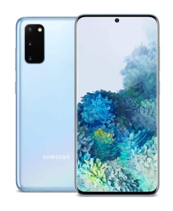 Smartphone Samsung Galaxy S20 pour un excellent jeu
