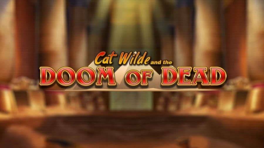 Logo of Cat Wilde and The Doom of Dead slot with bonuses