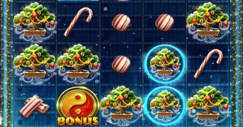 Gameplay de la machine à sous de Noël en ligne Ho Ho Tower