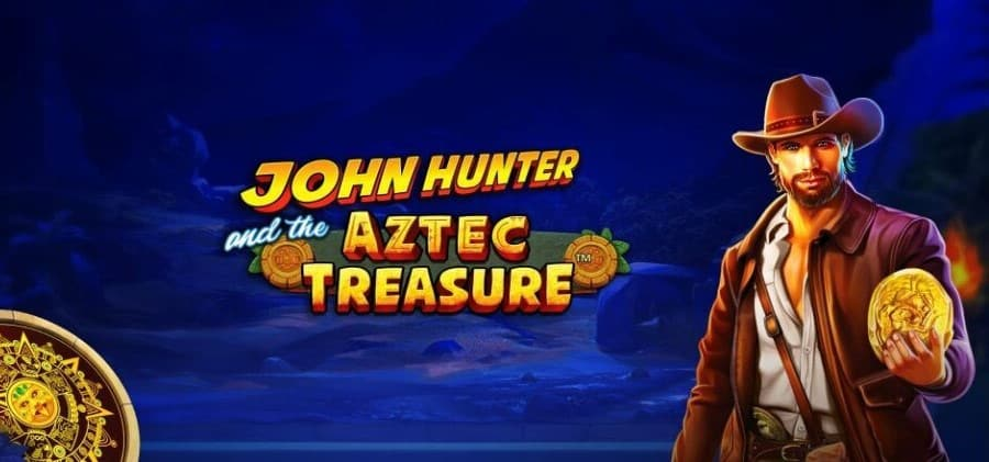 John Hunter and the Aztec Treasure slot game with bonus