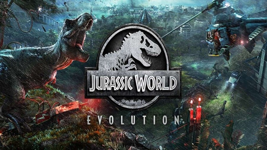 Logo of Jurassic Park slot game with big bonuses