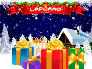 Cadeaux et logo de Lapland slots