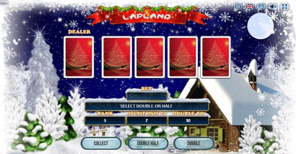 Gameplay du jeu de machine à sous en ligne Lapland
