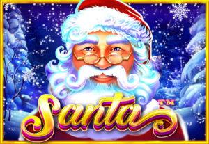 Logo de Santa jeu de fente de Noël en ligne
