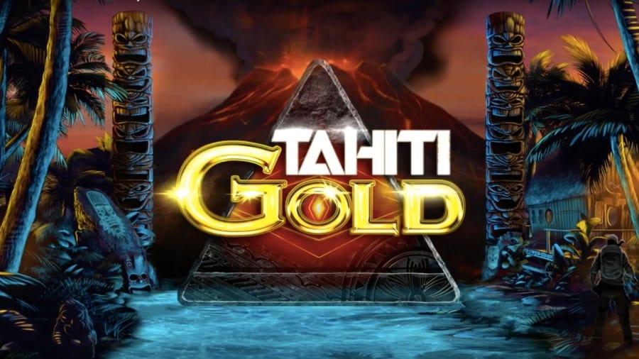 Logo of Tahiti Gold online bonus slot game