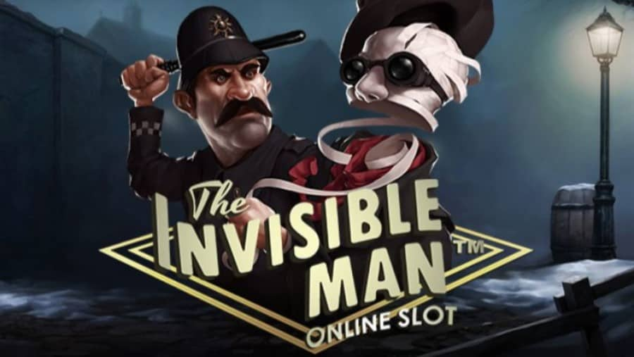 The Invisible Man online slot game with bonuses
