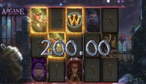 Wild bonus features of Arcane: Reel Chaos online video slot by NetEnt