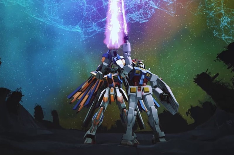 Main characters of Gundam VS video game
