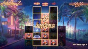 Free spins bonuses of Hotline 2 online slot by NetEnt
