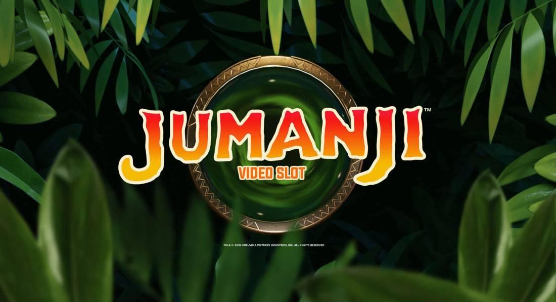 Logo de Jumanji fente en ligne par NetEnt