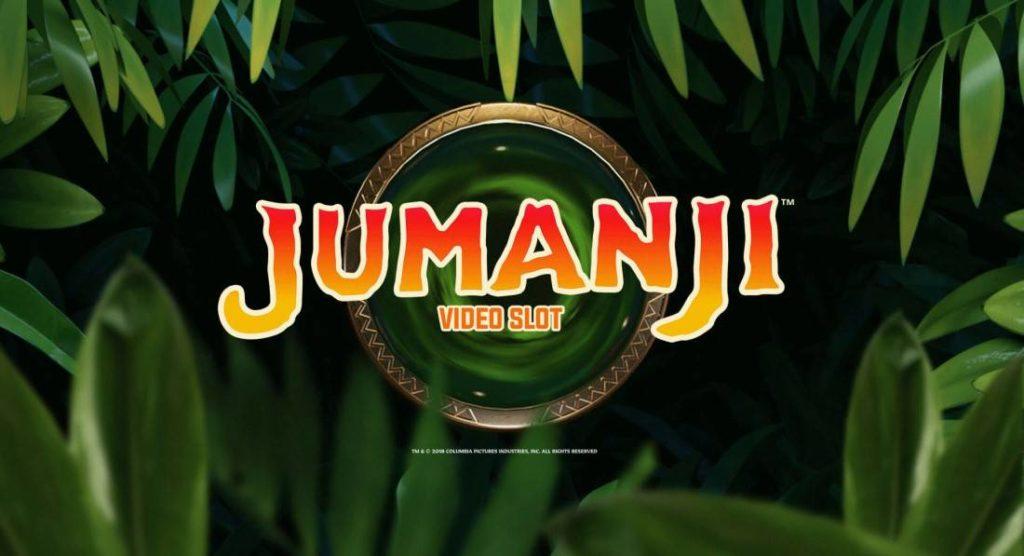 Logo of Jumanji Online Slot by NetEnt