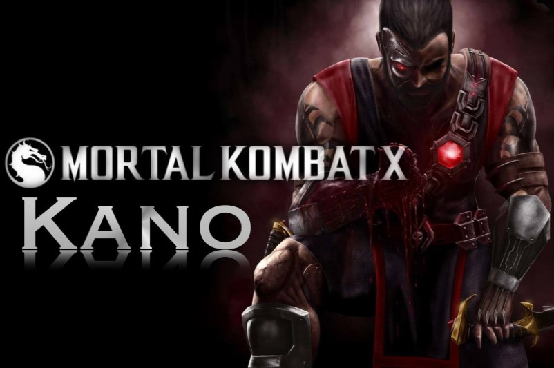 Kano - the hero of Mortal Kombat XL video game