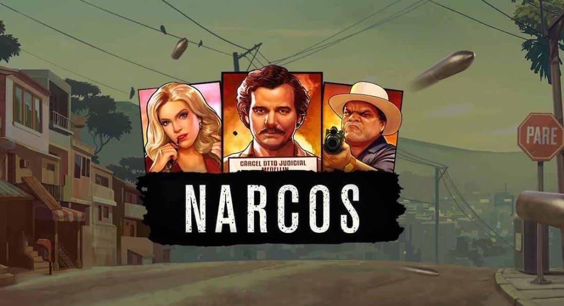 Logo de Narcos NetEnt machine à sous vidéo en ligne par NetEnt