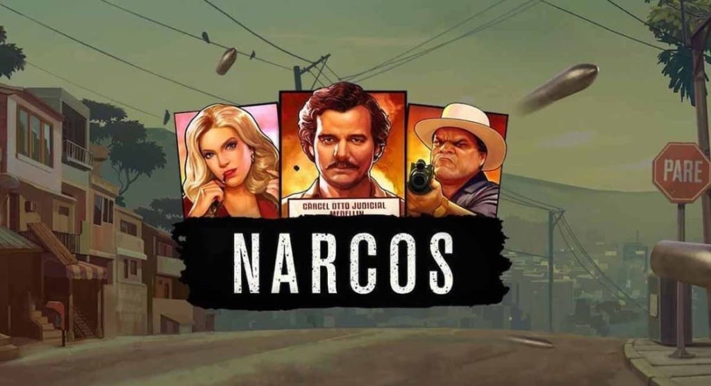 Logo of Narcos NetEnt online video slot by NetEnt