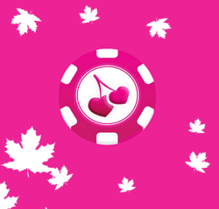 A chip with the logo of Pink Casino which is entering the Canadian market