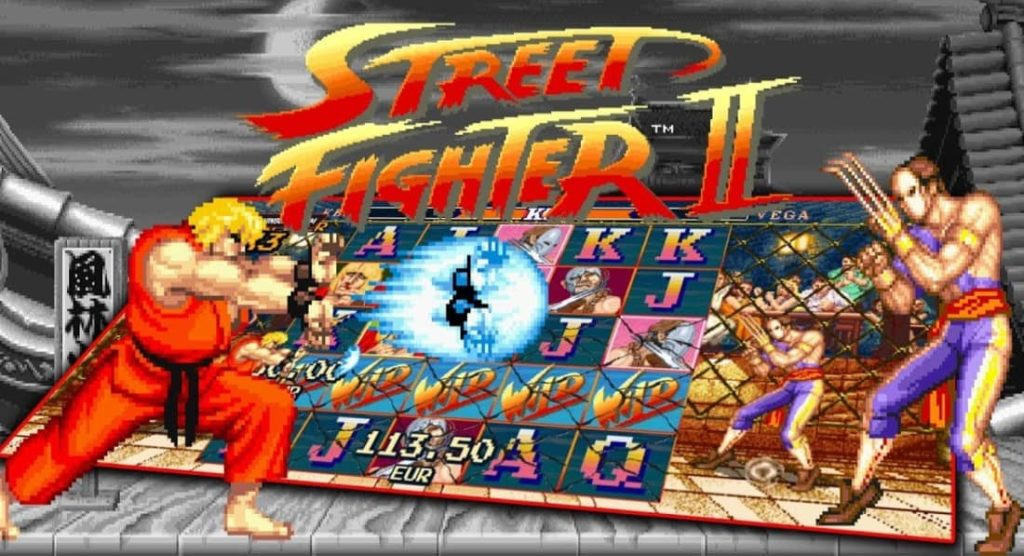 Les personnages principaux de Street Fighter 2: The World Warrior slot par NetEnt
