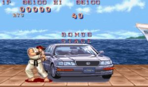 Car Smash Bonus Game fonction de Street Fighter 2: The World Warrior la fente de vidéo par NetEnt