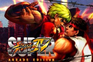 Super Street Fighter 4 Singles Logo