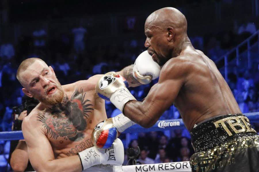Conor McGregor and Floyd Mayweather match in Canada in 2017