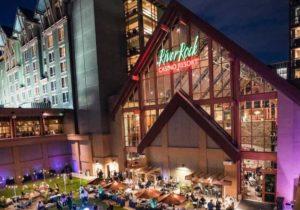 People are enjoying in River Rock Casino Resort