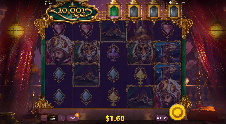 10001 Nights online game