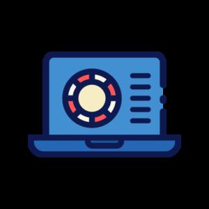 Online blackjack icon