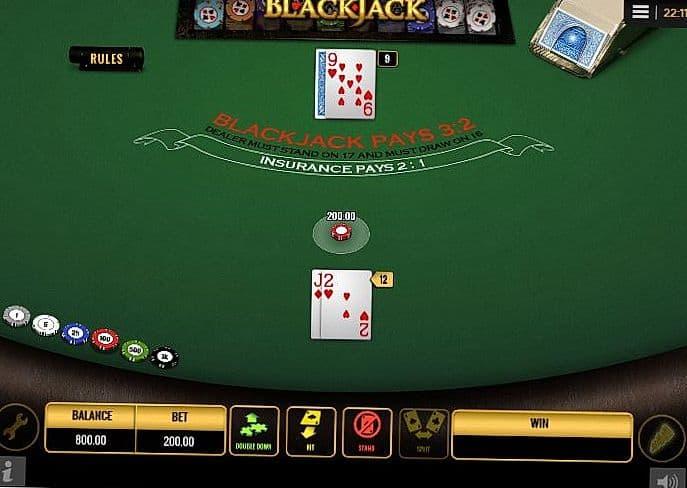 Blackjack game online