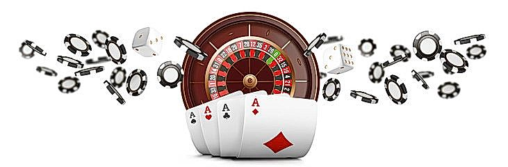 Illustration to our guide to online casino gambling