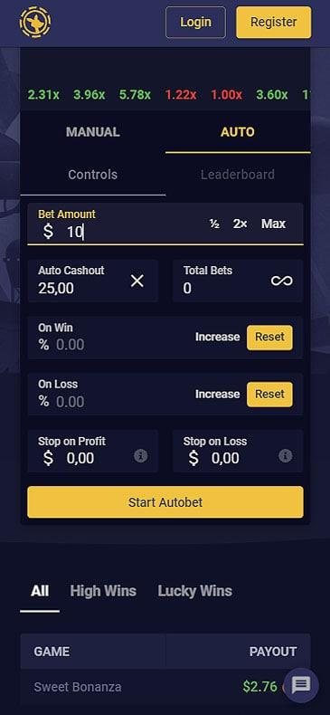 crash mobile game